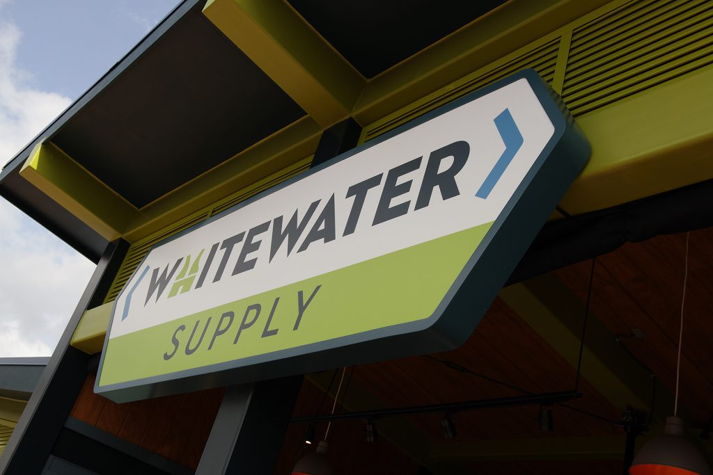 Whitewater Supply Sign