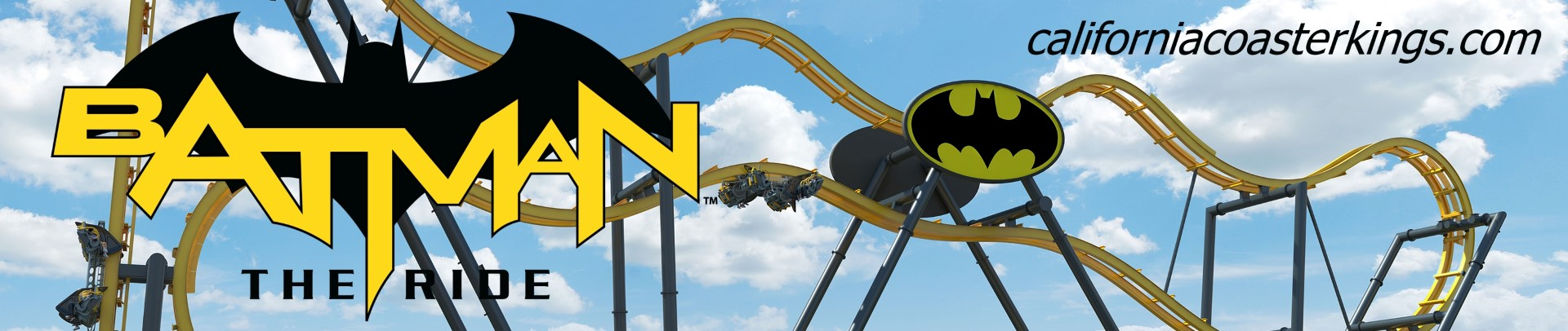 Batman™: The Ride - Free-Fly Coaster - NEW at Six Flags