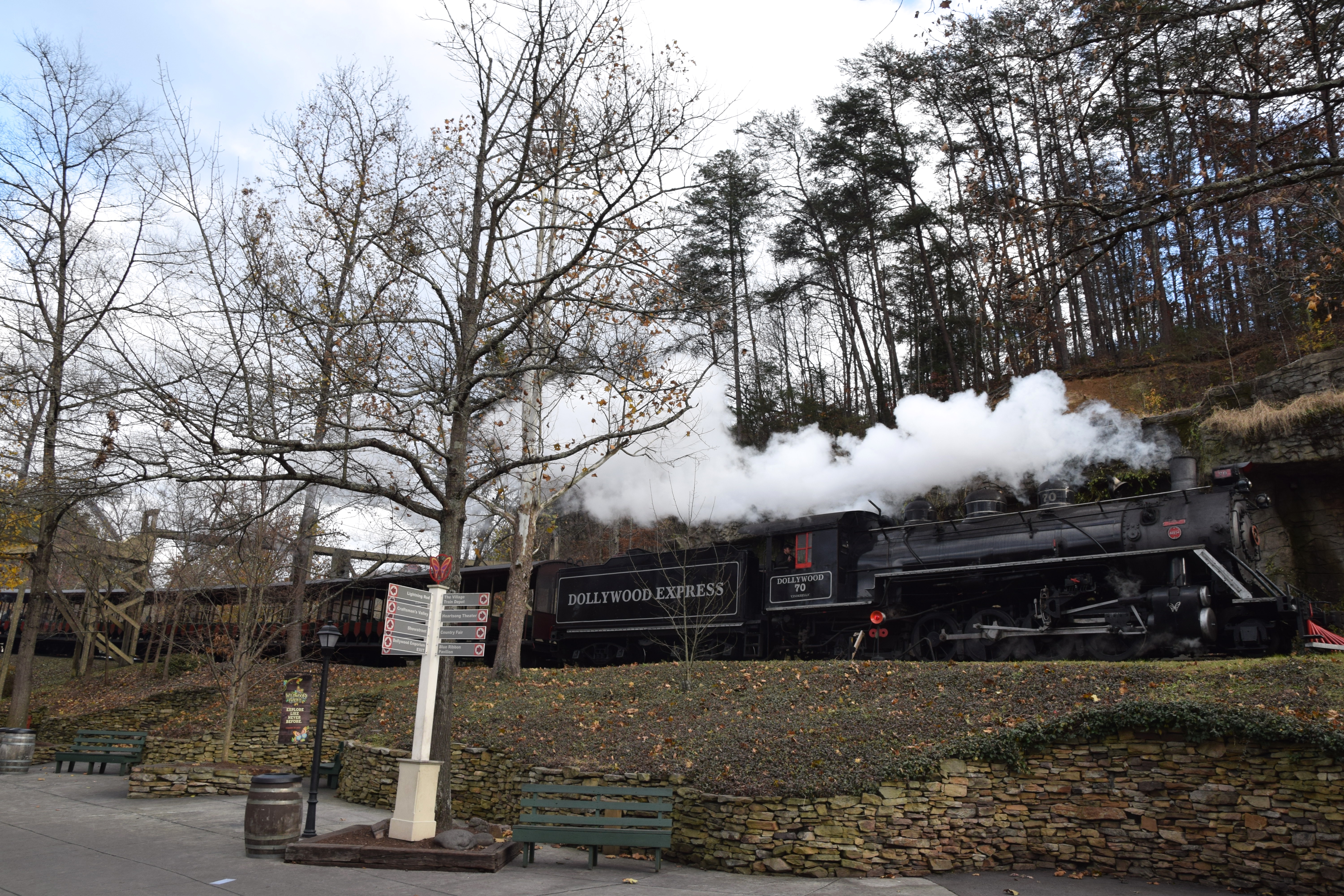 Dollywood Trip Report - November 28th 2018 - Coaster Kings