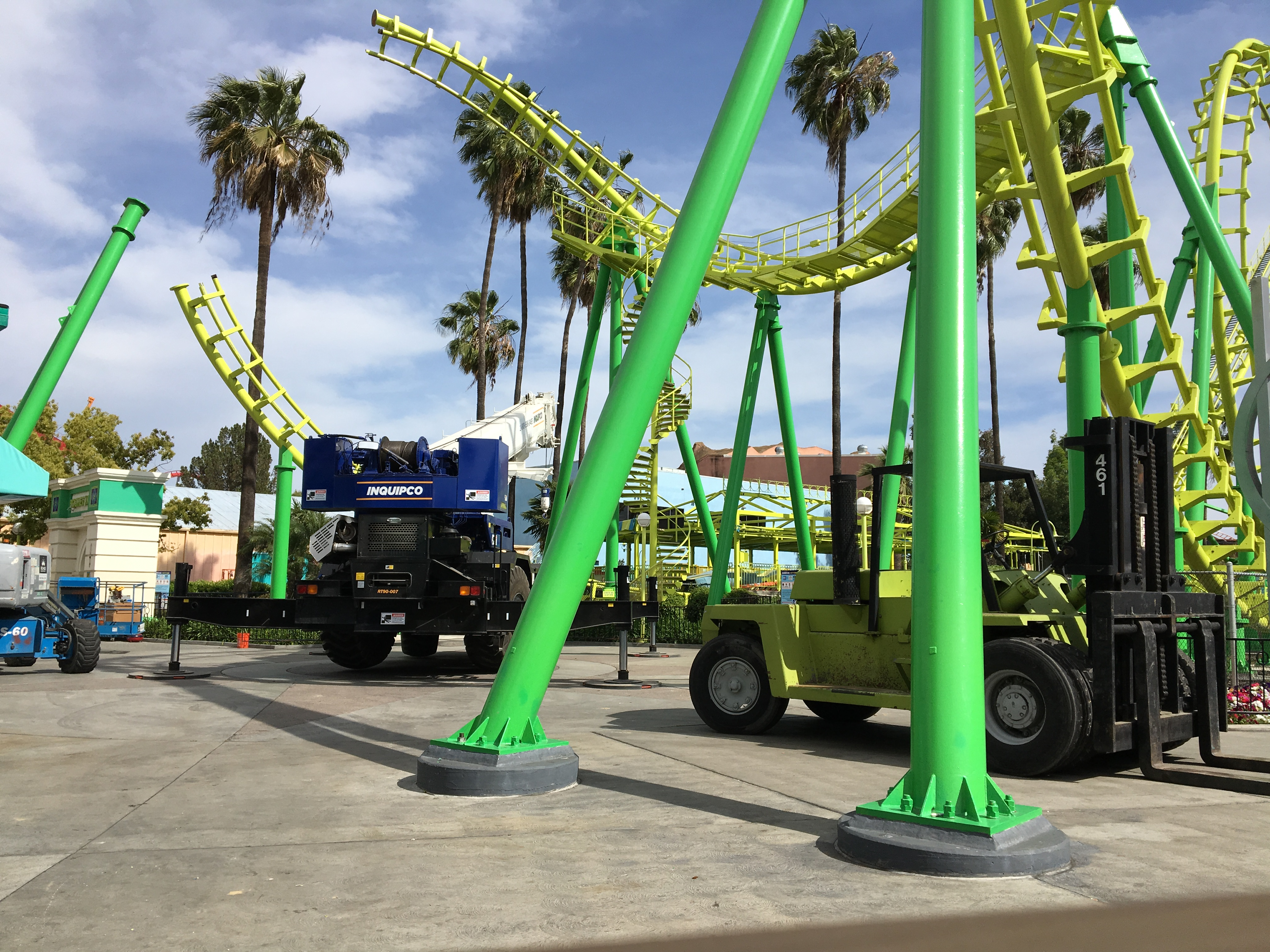 This Is Where Knott S Berry Farm S Boomerang Is Going Coaster Kings