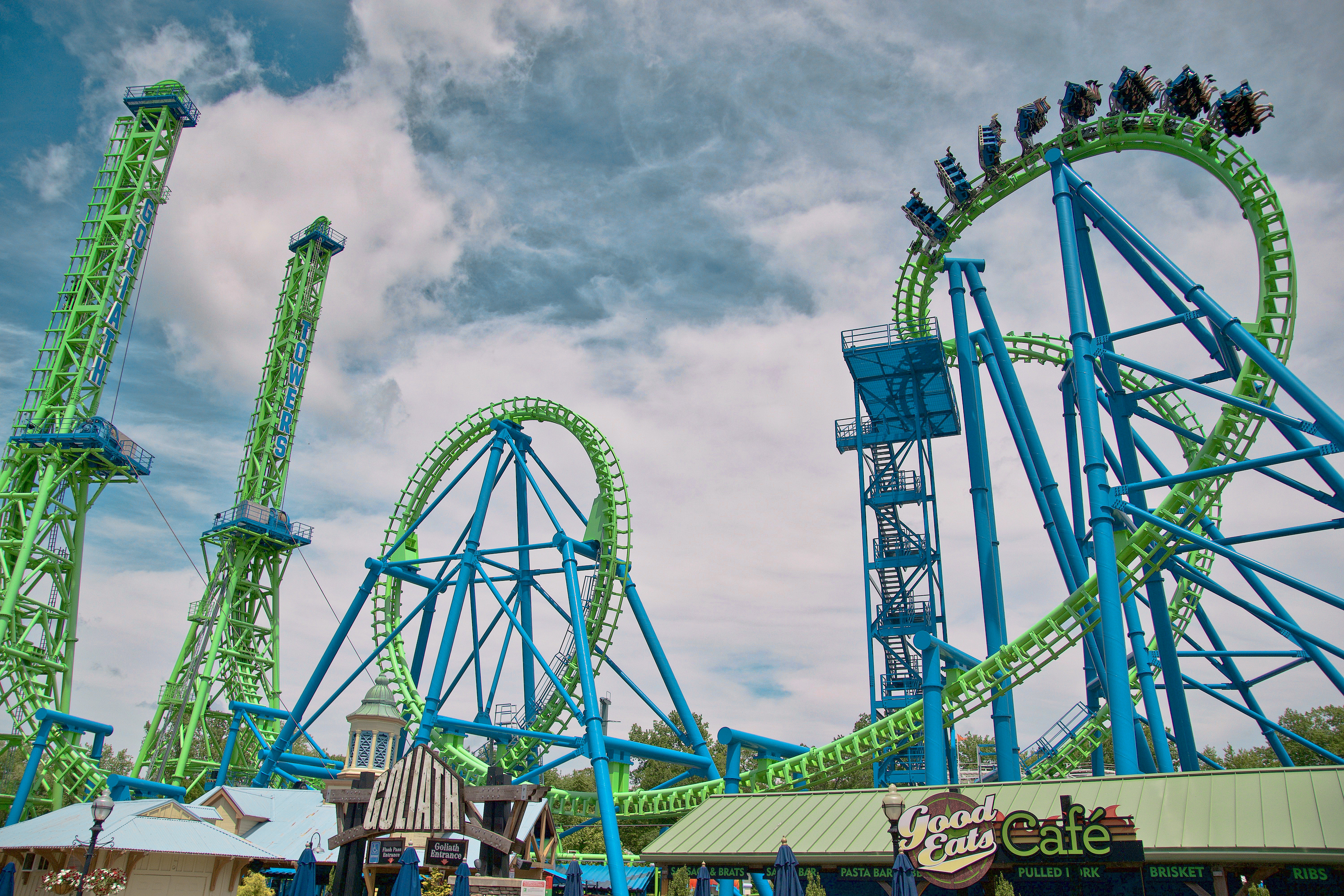 Six Flags New England - Trip Report - June 2019 - Coaster Kings