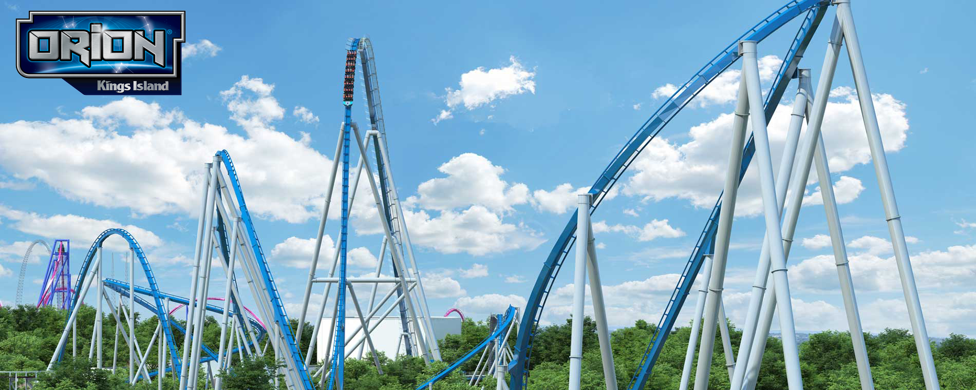 Kings Islands Announces Orion - Giga Coaster coming in 2020