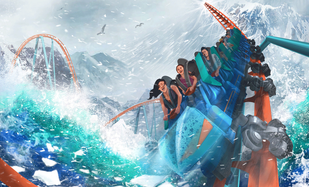 SeaWorld Orlando Ice Breaker 2020
