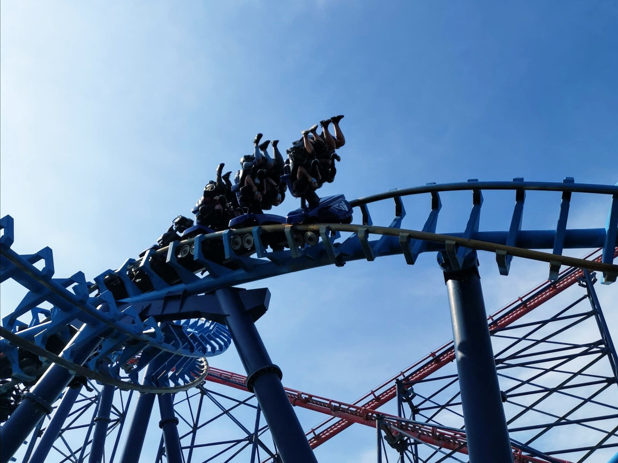 infusion rollercoaster at blackpool pleasure beach