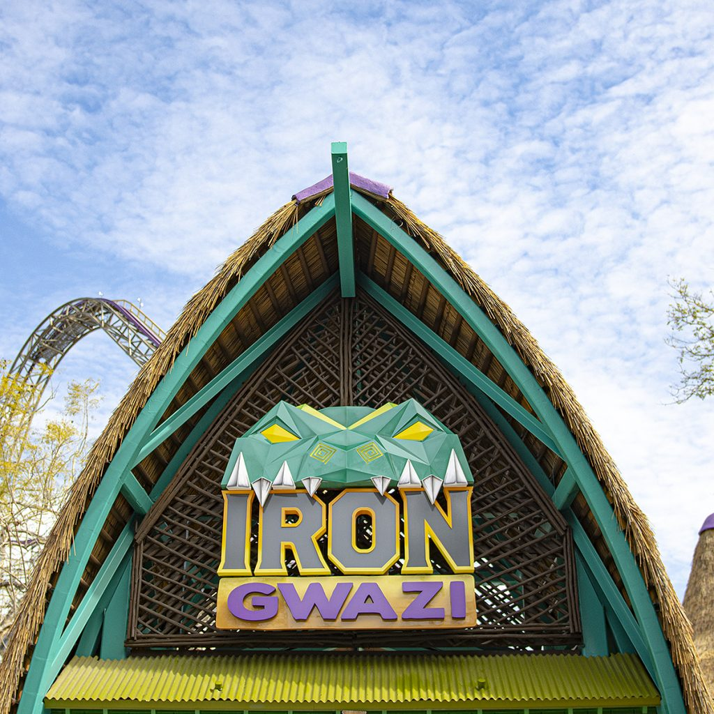 Iron Gwazi Sign